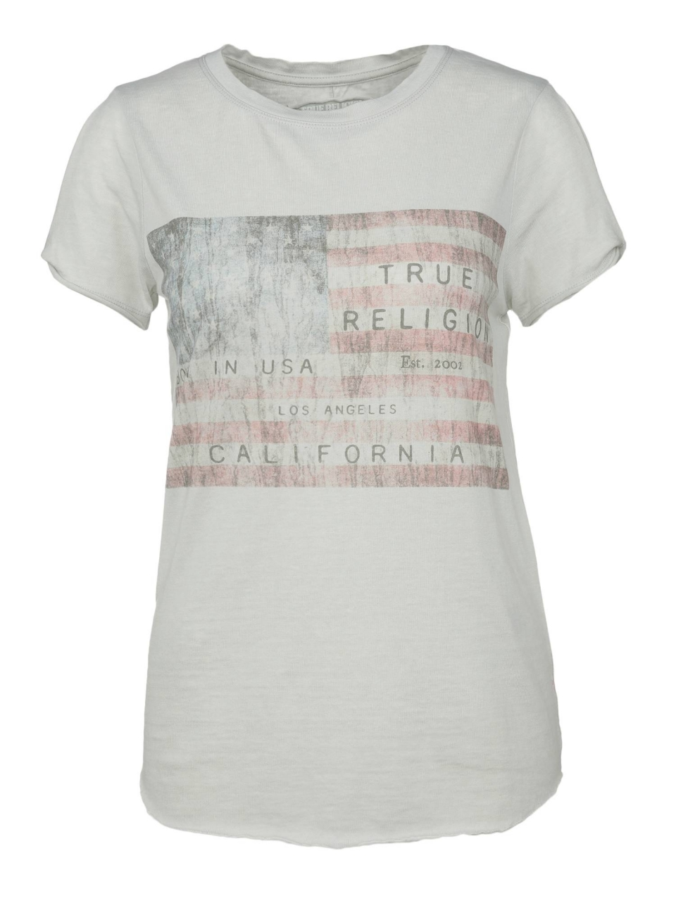 True Religion T-Shirt mit American Flag