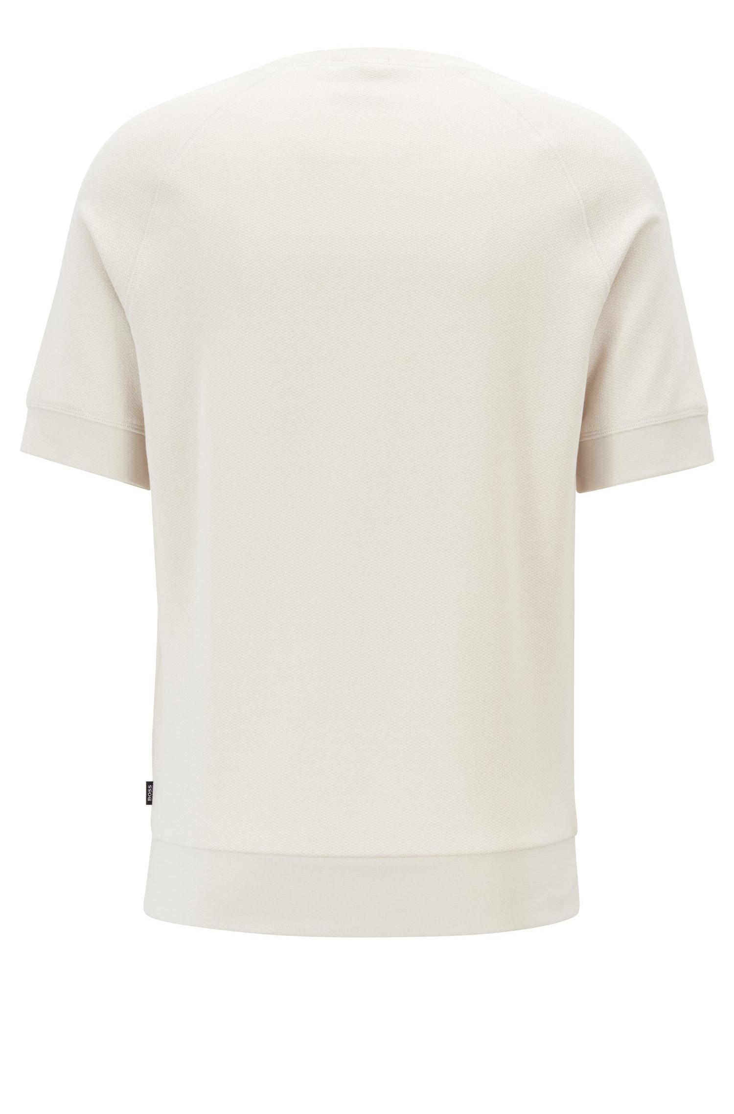 BOSS Kurzarm-Sweatshirt Sealy 02      Ausgewählte Materialien  f9827f