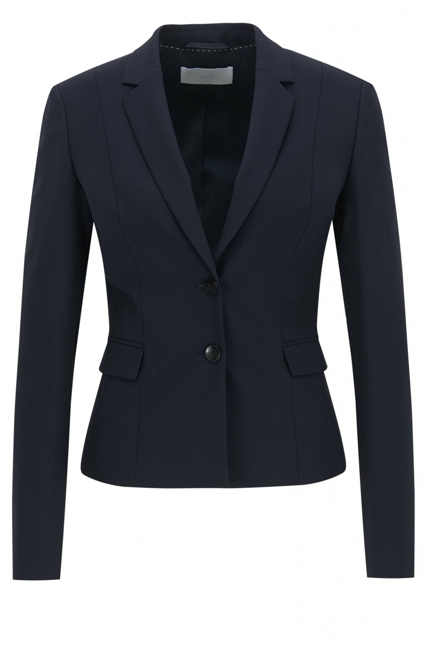 BOSS Blazer Jaru in Cropped-Länge