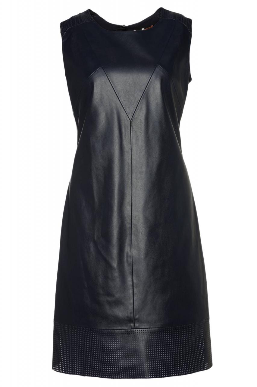 BOSS Kleid Aswedy aus Kunstleder