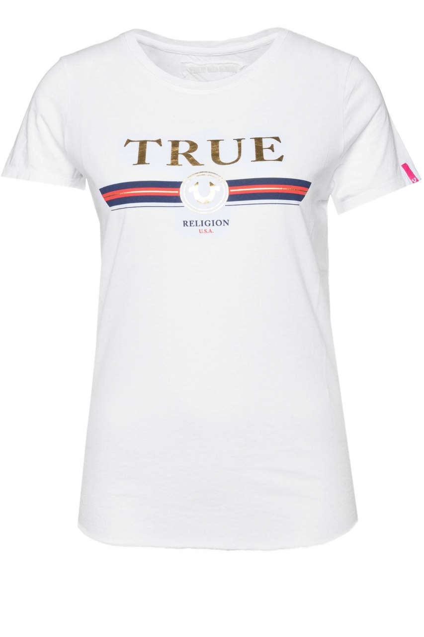 True Religion T-Shirt Crew Boxy True