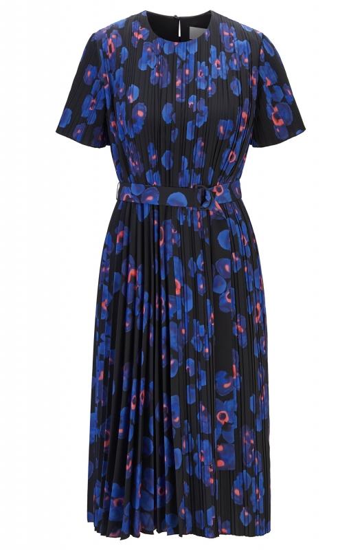 Kleid Diplissee