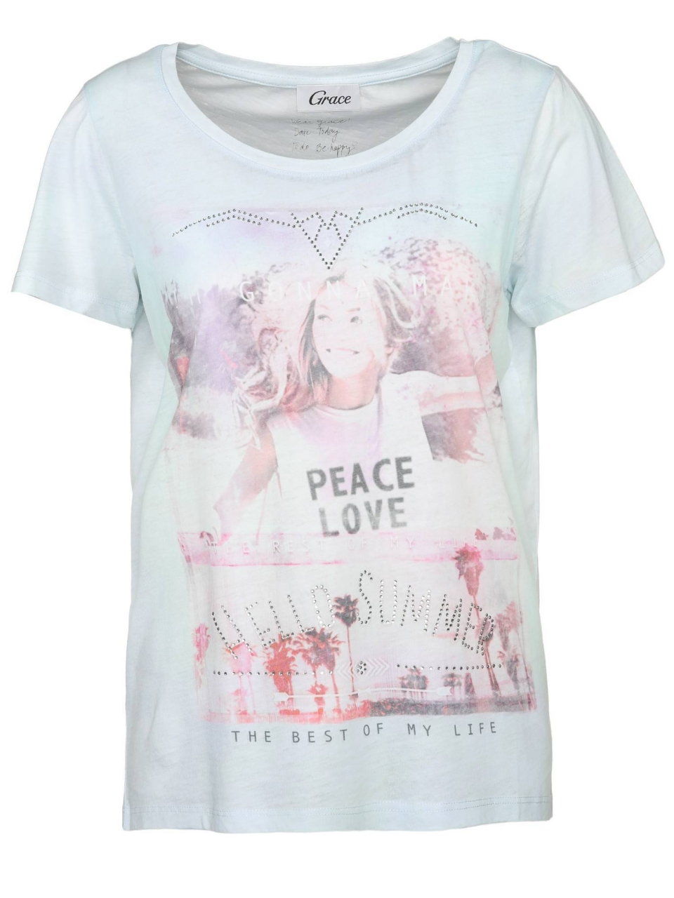GRACE T-Shirt Peace & Love