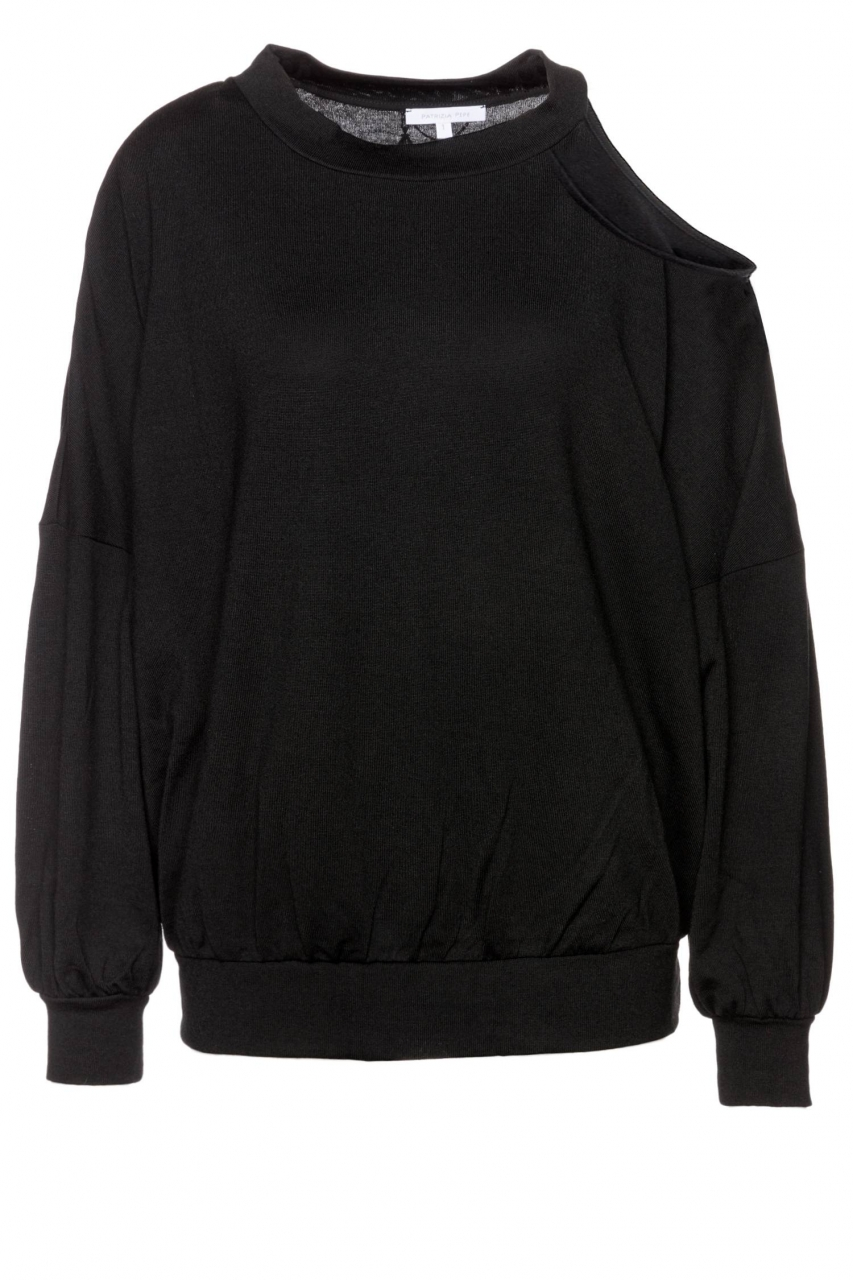 Patrizia Pepe Pullover mit Cut-Out an der Schulter
