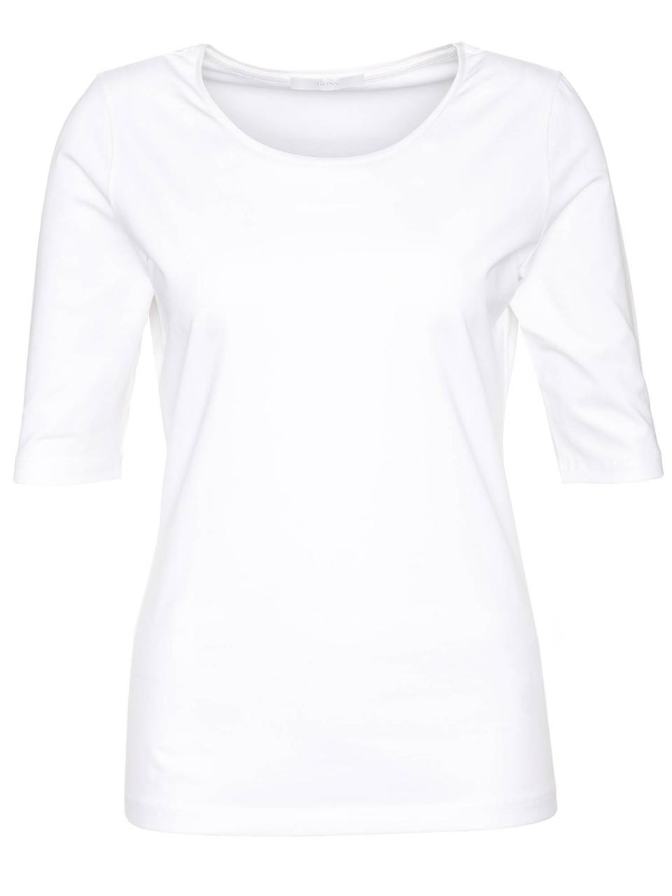 BOSS Shirt Emmsi mit Dreiviertelärmeln