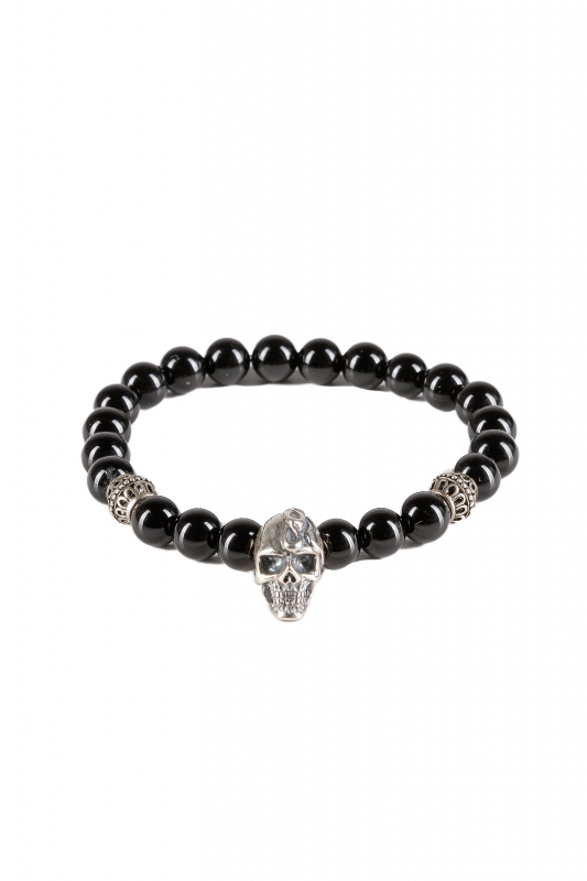 Armband Black Skull