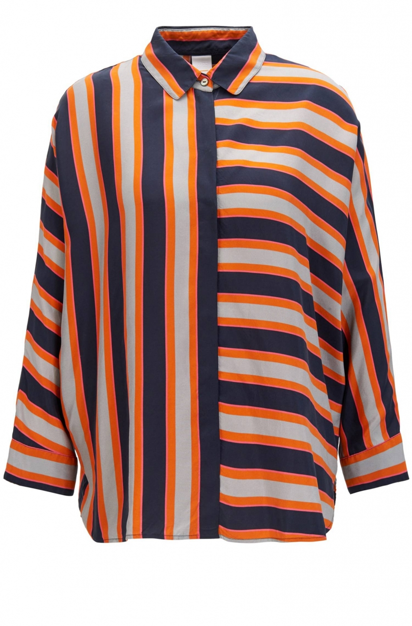 BOSS ORANGE Seidenbluse Emaxi_1