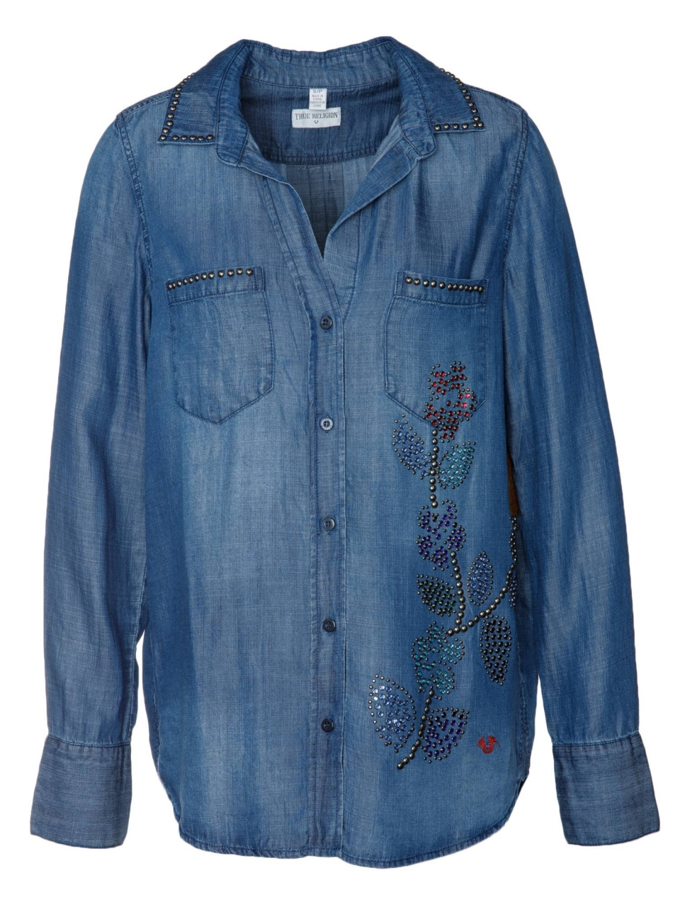 True Religion Bluse Tencel