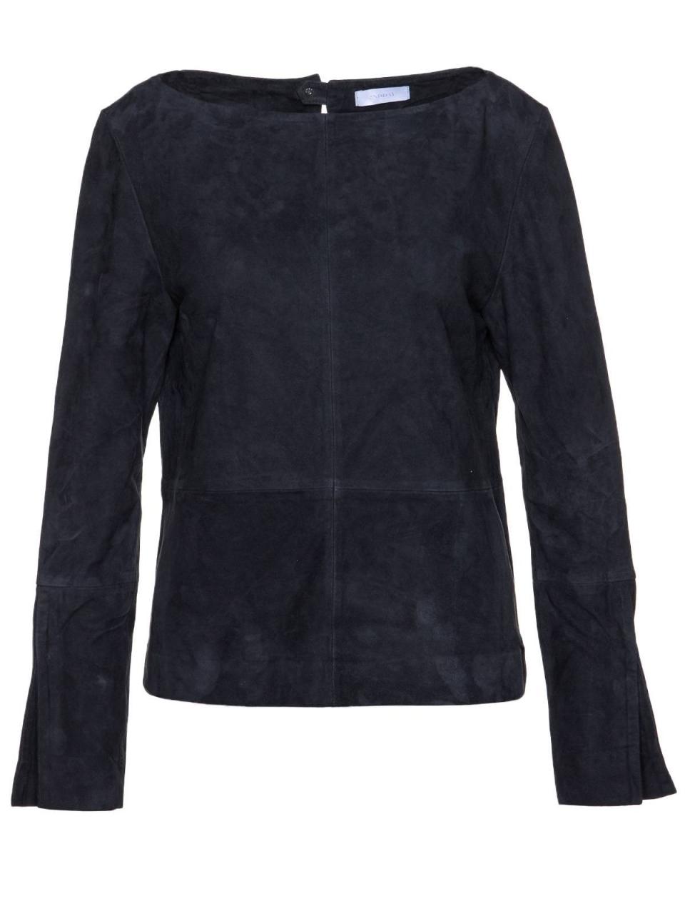 2NDDAY Bluse CRISP aus Leder