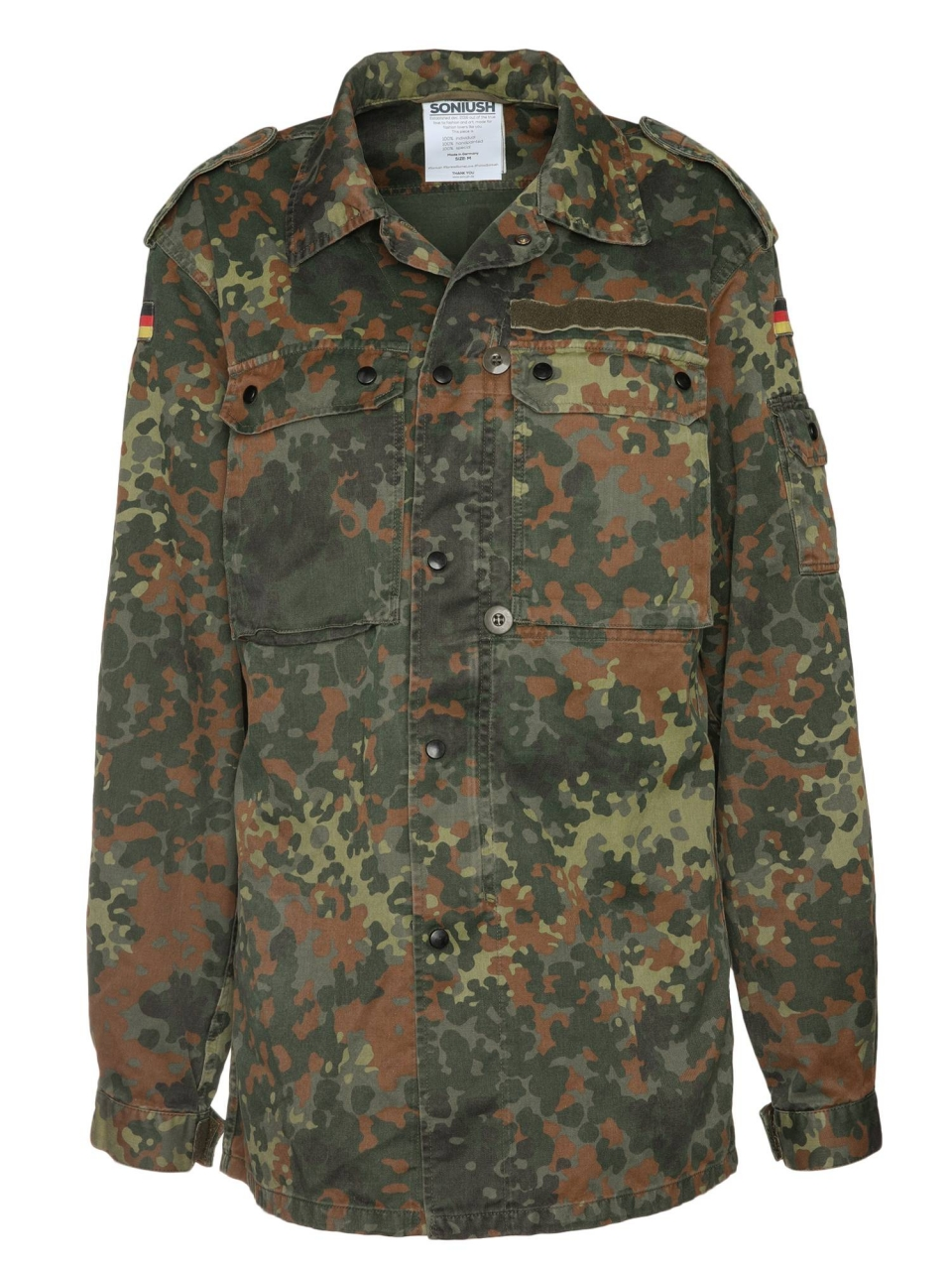 Soniush Jacke Lips Camo Women