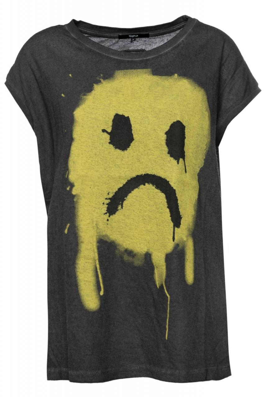 Tigha T-Shirt Dropout Smiley