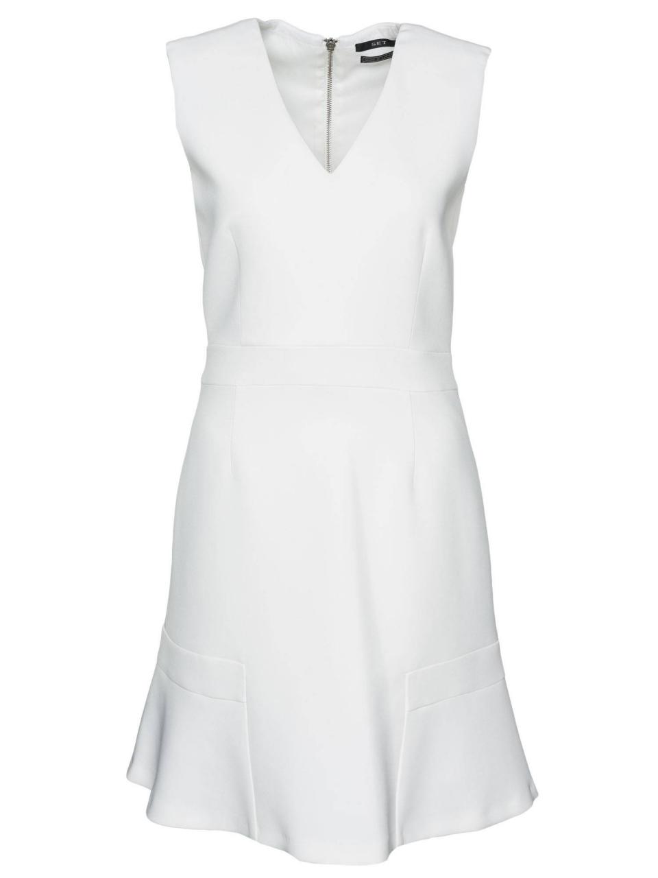 SET ausgestelltes Kleid mit Zipper
