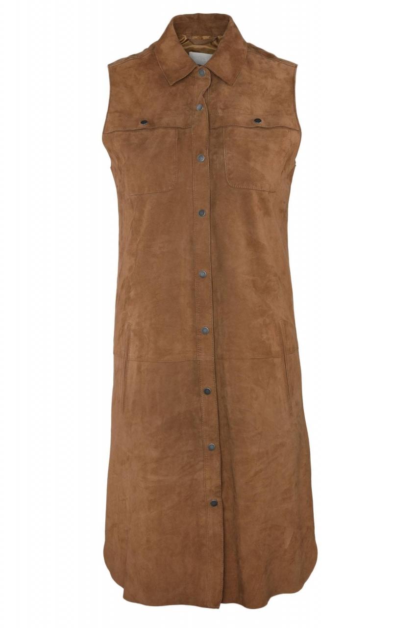 Oakwood Kleid Sahara aus Ziegenleder