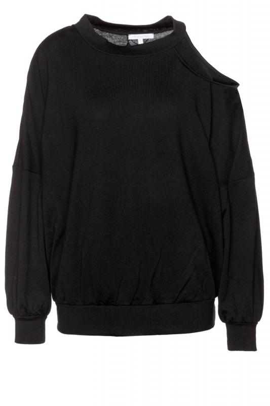 Pullover mit Cut-Out an der Schulter
