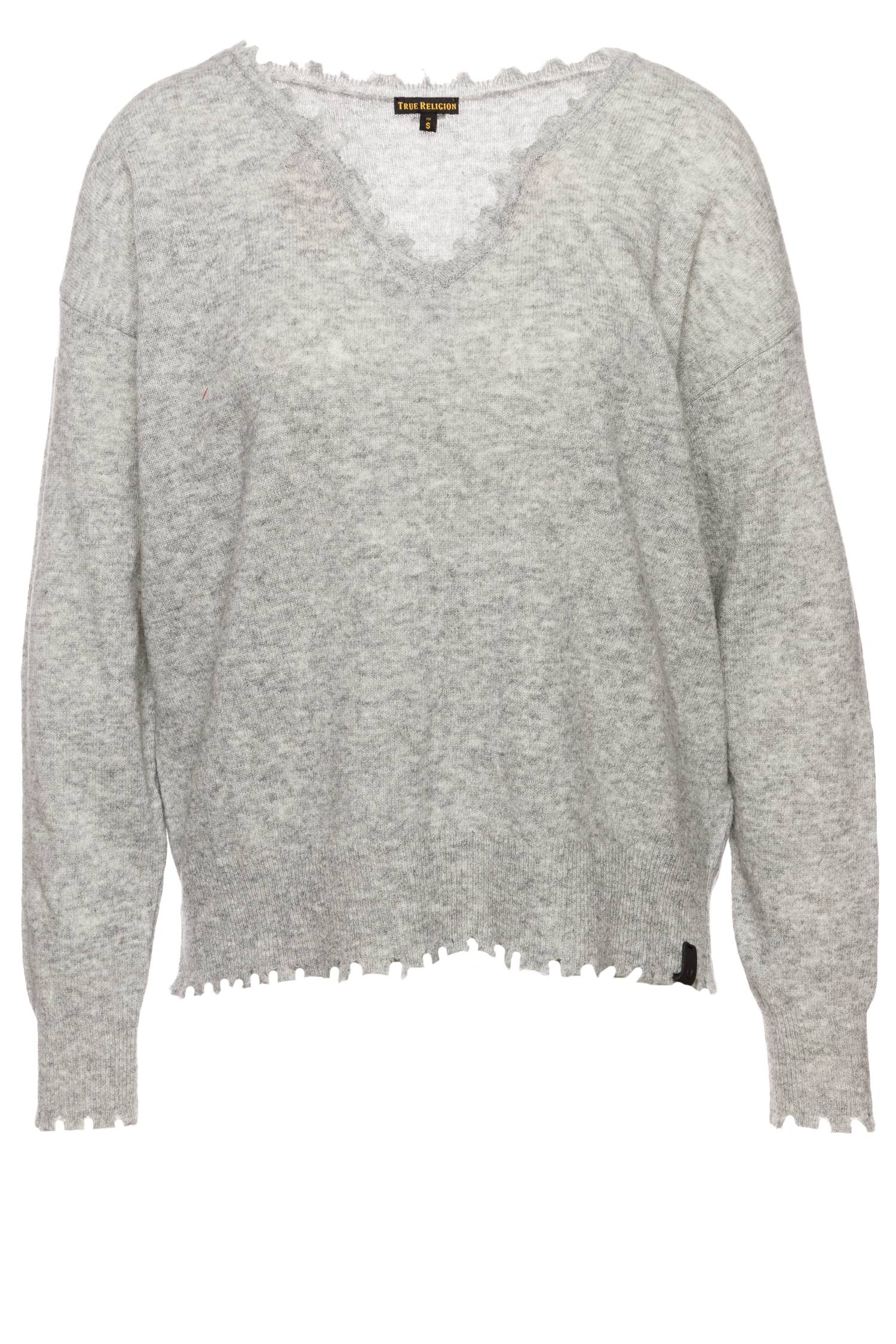 True Religion Damen Pullover in Grau | Stylight