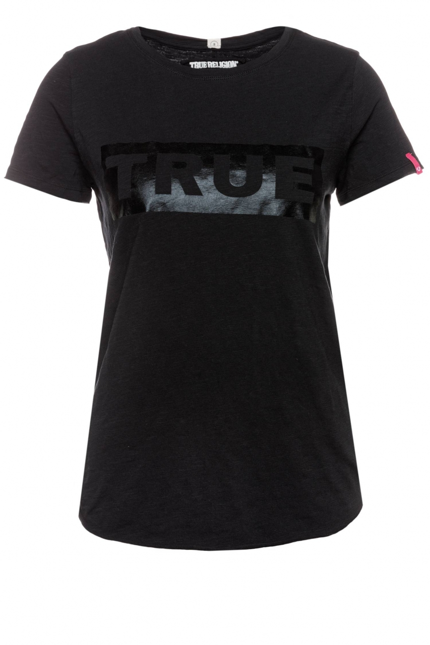True Religion T-Shirt Boxy T True Foil