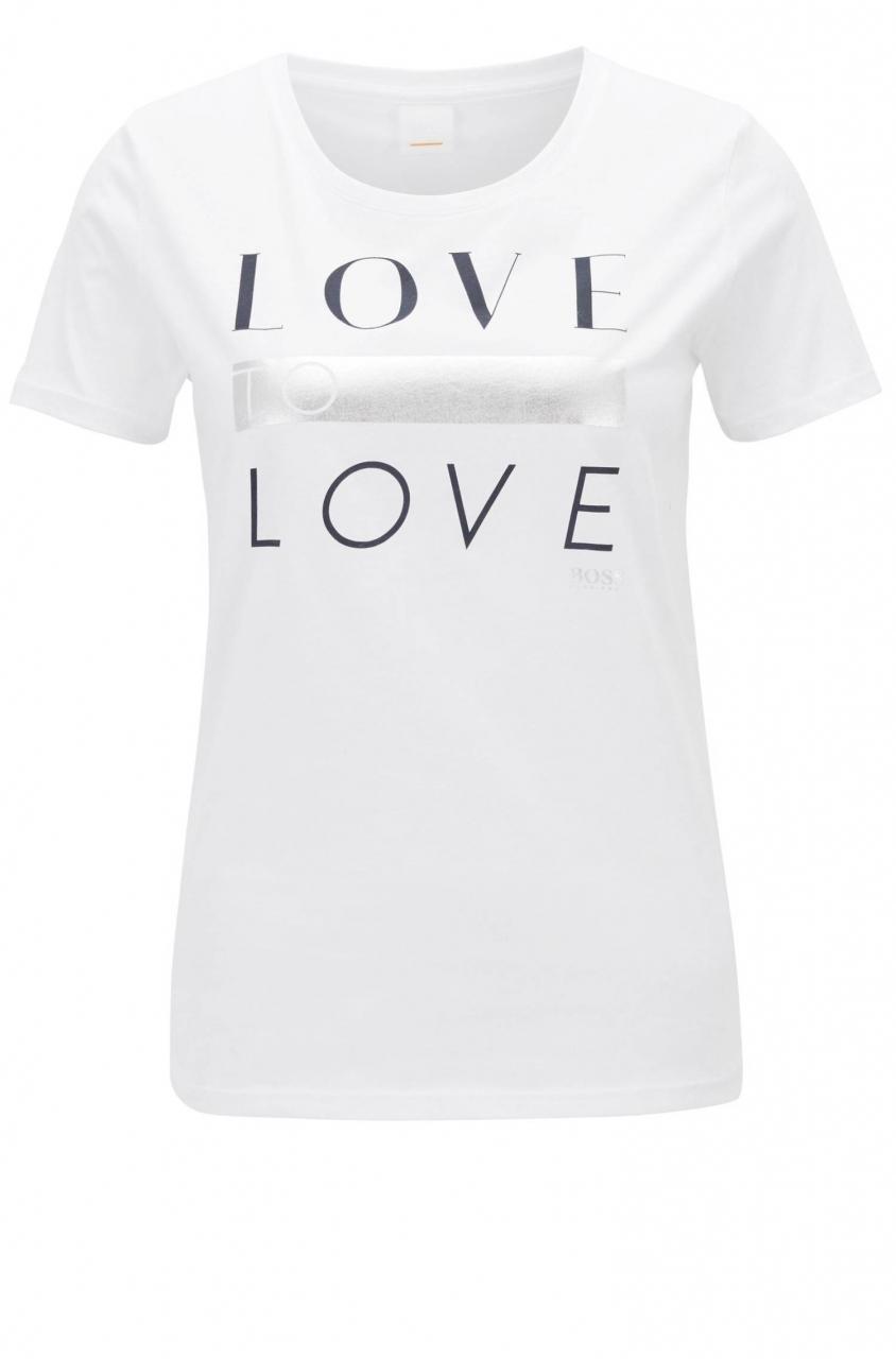 BOSS T-Shirt Teslogan