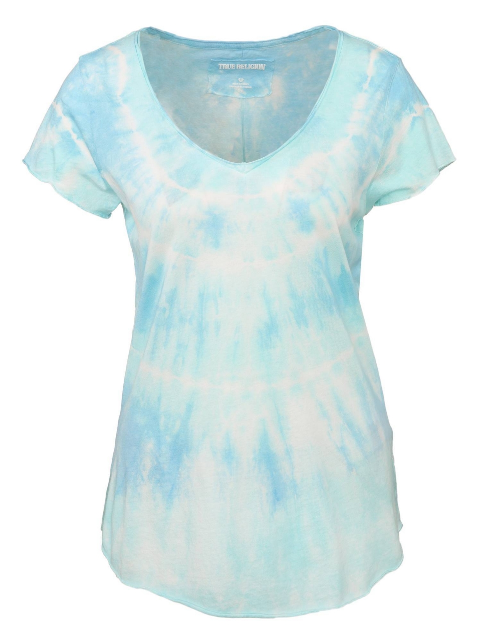 True Religion T-Shirt VNeck SS Rainbow