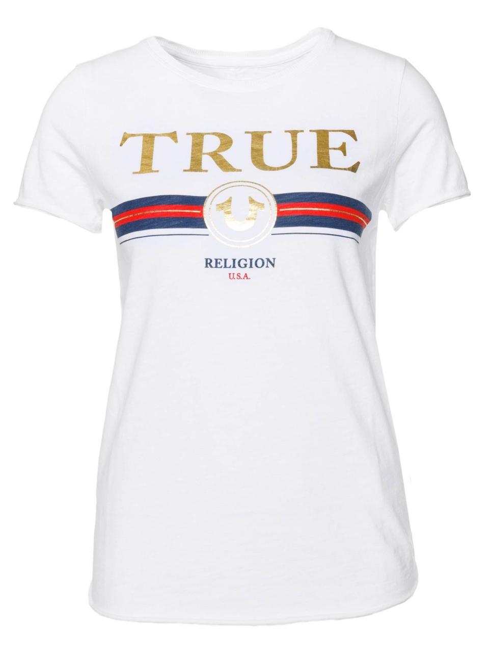 True Religion T-Shirt Boxy Crew Shirt Artwork