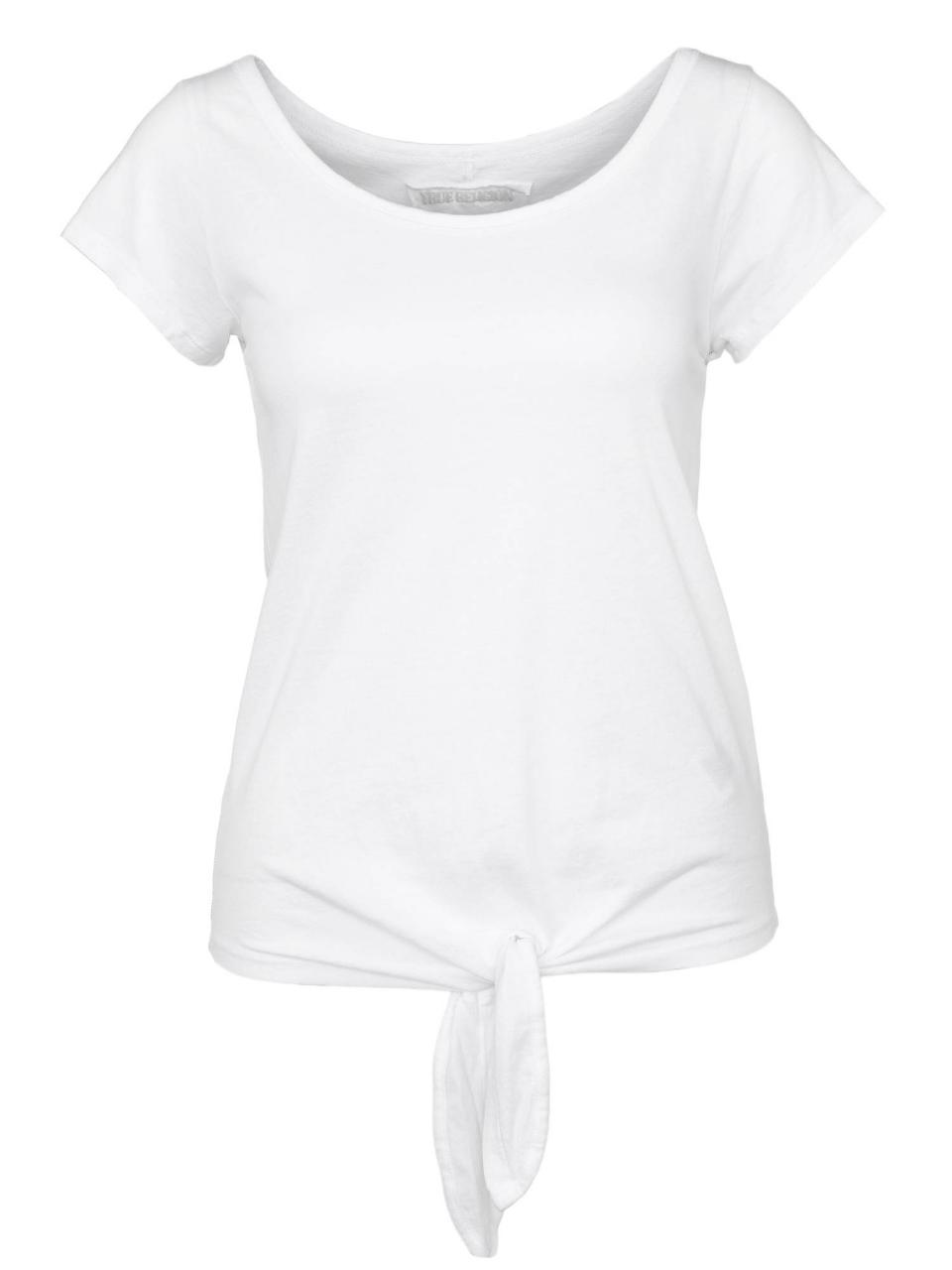True Religion T-Shirt Knot Detail