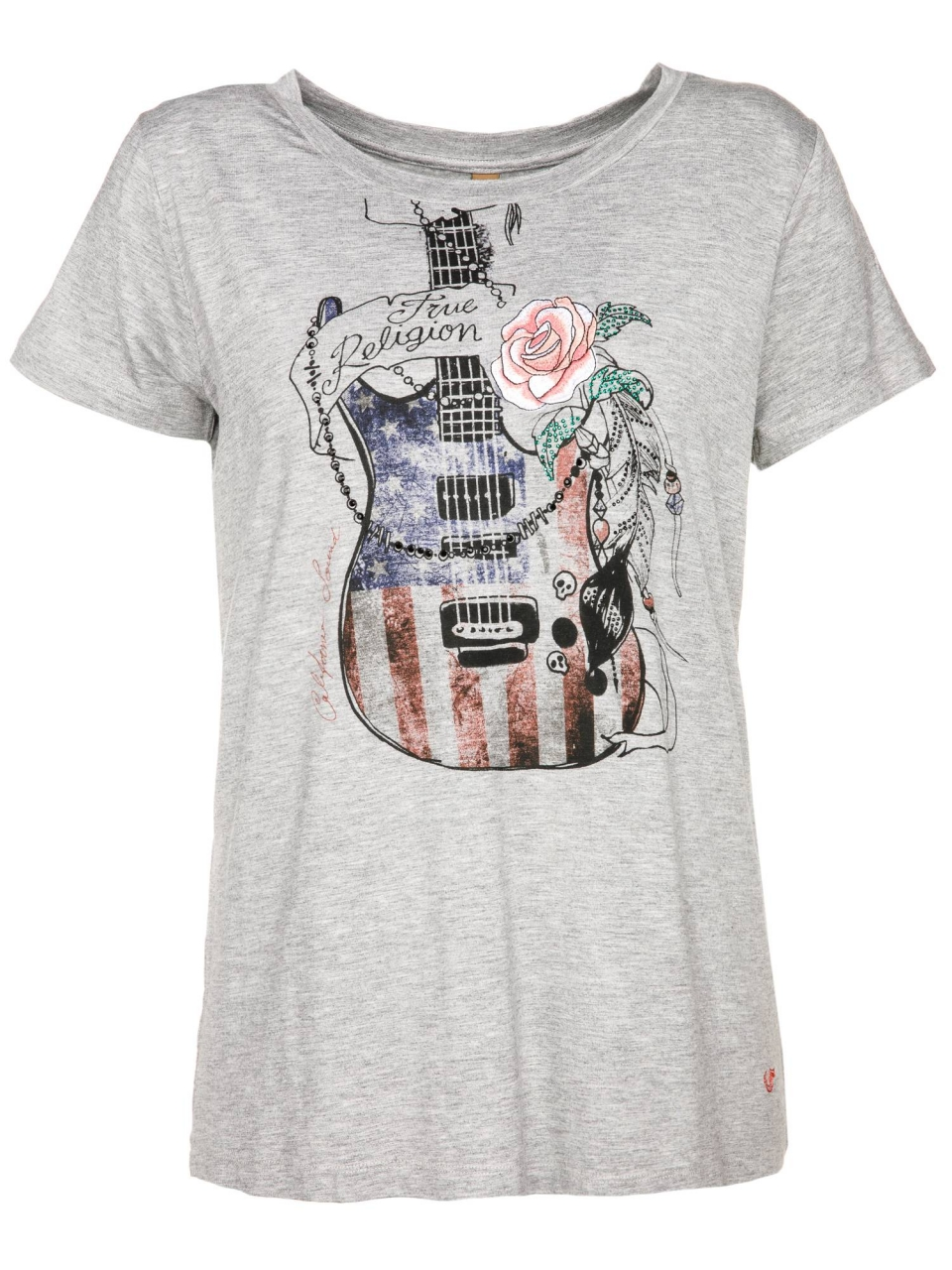 True Religion T-Shirt Guitar