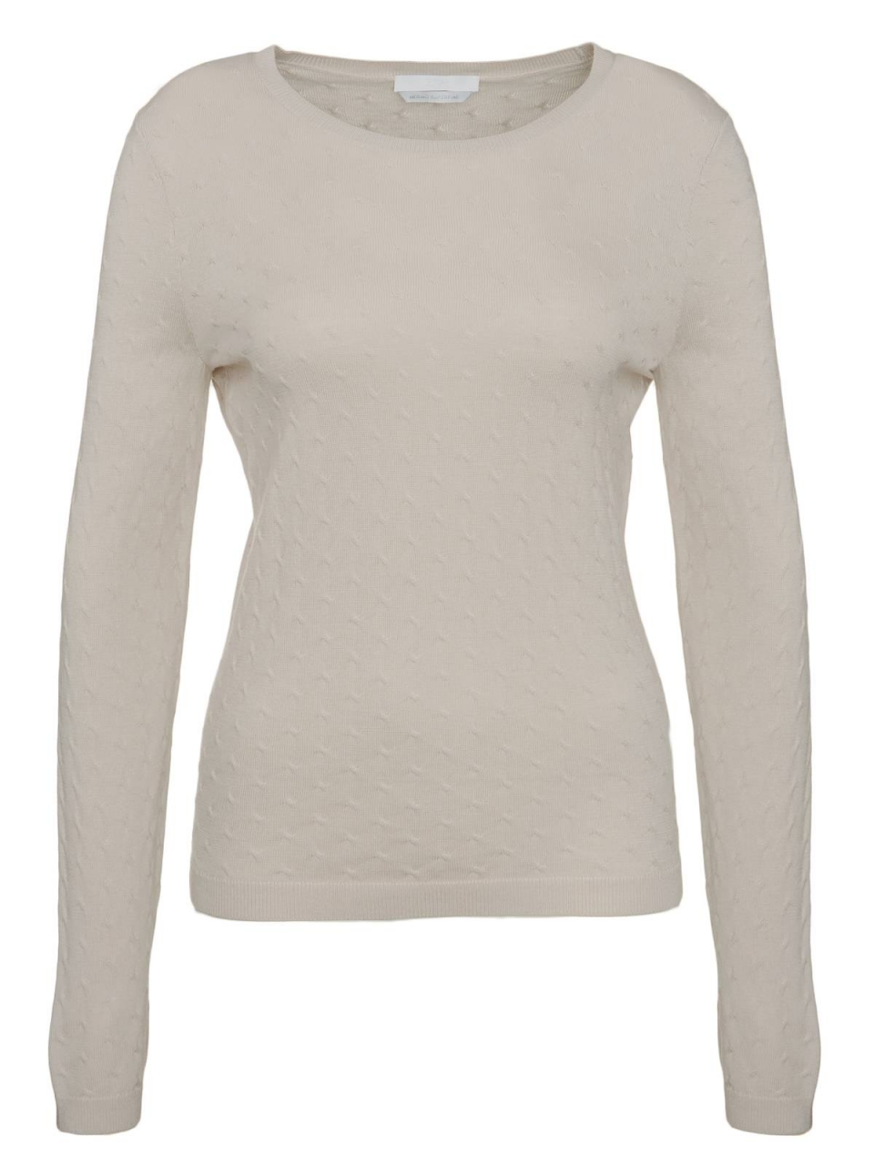BOSS Pullover Faunia mit Zopfstrick-Muster